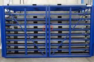 high-capacity storage rack