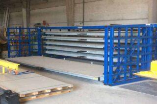 metal plate shelving