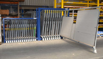 steel panels storage racks