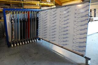 rek stockage panelen platen aluminium