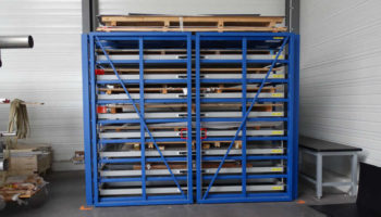 compact efficient storage of cut-offs and metal