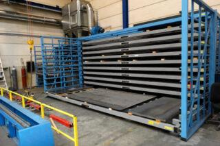Staalplaten aluminiumplaten platenrek zwaar