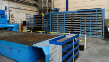 storage racks for stainless steel sheets