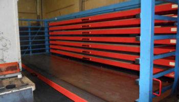 Steel plate heavy-duty racking