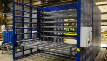 space-saving storage rack