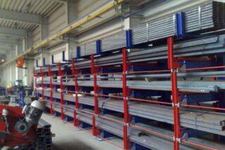metal works steel aluminum storage rack