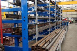 metal workshop cantilever drawer rack