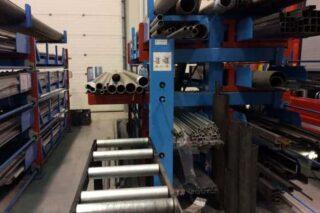 roller conveyor storage rack