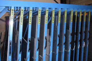 opslag restplaten stockage lades