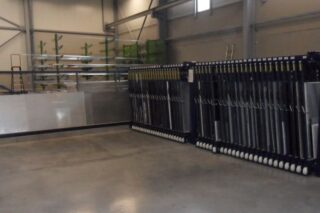 stainless steel sheet storage