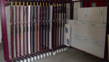 metal sheets dibond panels storage