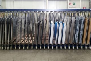aluminium sheeting stainless plates rack