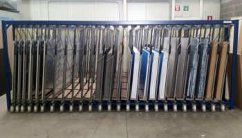 vertical sheet storage