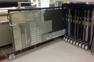 sheet metal storage residual pieces