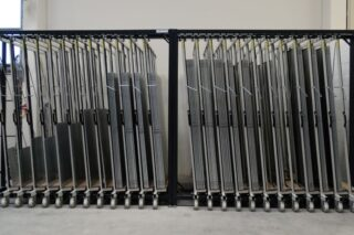 industrial steel sheets storage rack