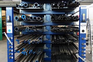 eurostorage roll-out drawers cantilever rack