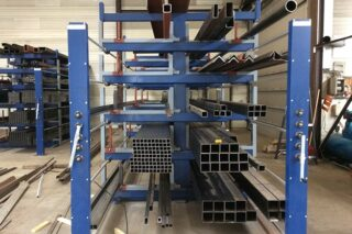 Hand winch extractable drawer storage solution