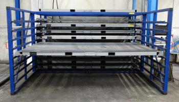 steel sheet storage