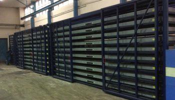 high capacity metal sheet rack
