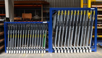 compact metal sheet rack