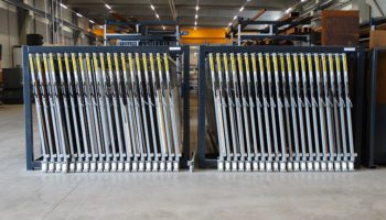 industrial steel sheets storage