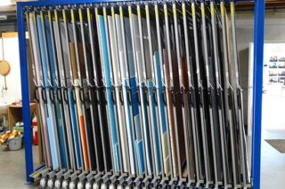 dibond aluminium pieces sheeting storage rack