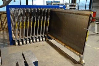 heavy duty steel plate storage