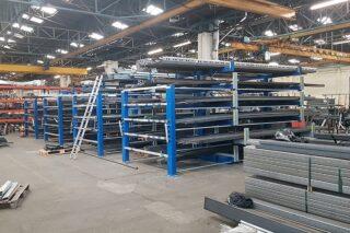 metal workshop storage rack