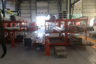 metal bar storage solution