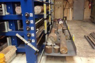 uitrolbare lades zware assen reststukken